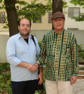 سفیر آفریقای جنوبی+علی البرزی